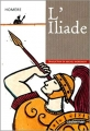Couverture L'Iliade / Iliade Editions Casterman 1996