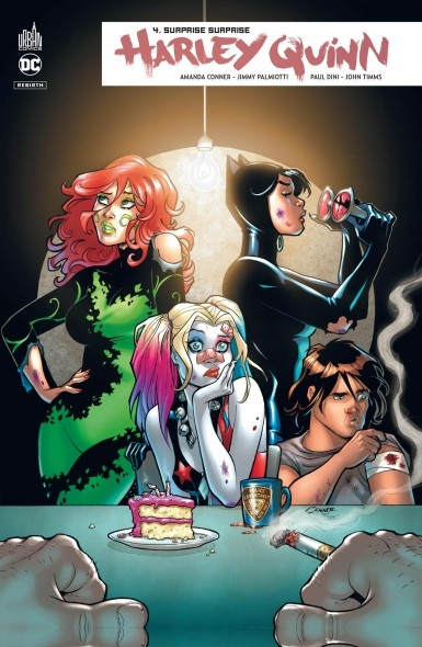 Couverture Harley Quinn Rebirth, tome 4