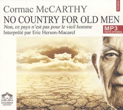 Couverture No Country for Old Men / Non, ce pays n'est pas pour le vieil homme.