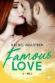 Couverture Famous Love, tome 3 : Will Editions Milady (New Adult) 2019