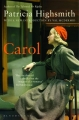 Couverture Carol Editions Bloomsbury 2015