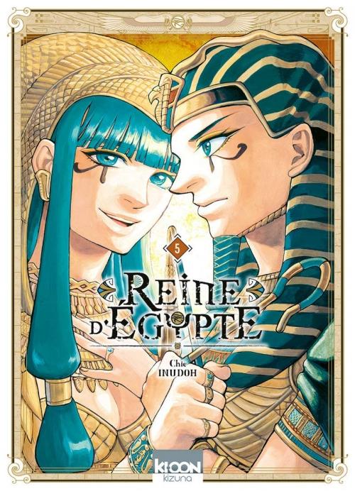 Couverture Reine d'Égypte (manga), tome 5