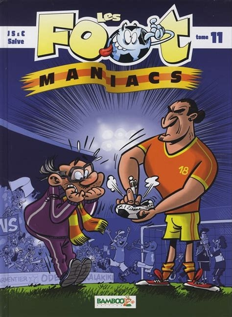 Couverture Les foot maniacs, tome 11