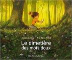 Couverture Le cimetière des mots doux Editions Albin Michel (Jeunesse) 2019