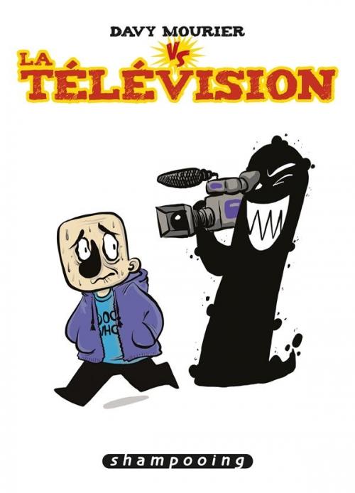 Couverture Davy Mourier VS la télévision