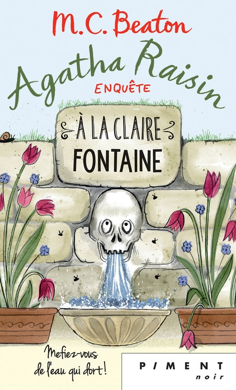 Couverture Agatha Raisin enquête, tome 07 : À la claire fontaine