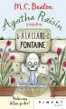 Couverture Agatha Raisin enquête, tome 07 : À la claire fontaine Editions France Loisirs (Piment - Noir) 2019
