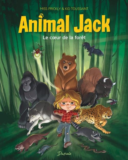 Couverture Animal Jack, tome 1 : Le coeur de la forêt