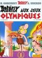Couverture Astérix, tome 12 : Astérix aux jeux olympiques Editions Hachette 2002