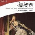 Couverture Les Liaisons dangereuses Editions Gallimard  2015