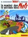 Couverture Astérix, tome 07 : Le combat des chefs Editions Hachette 2002