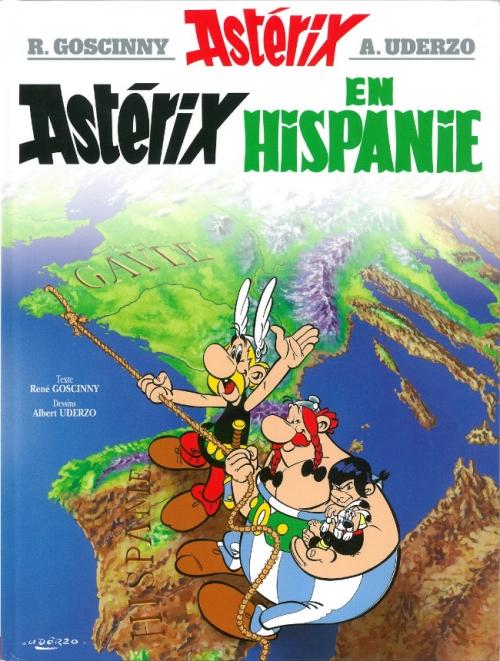 Couverture Astérix, tome 14 : Astérix en Hispanie