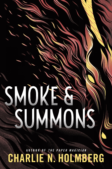 Couverture Numina, book 1: Smoke and Summons