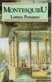 Couverture Lettres persanes Editions Les Classiques 1993