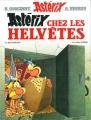 Couverture Astérix, tome 16 : Astérix chez les helvètes Editions Hachette 2014