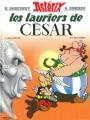 Couverture Astérix, tome 18 : Les lauriers de César Editions Hachette 2013