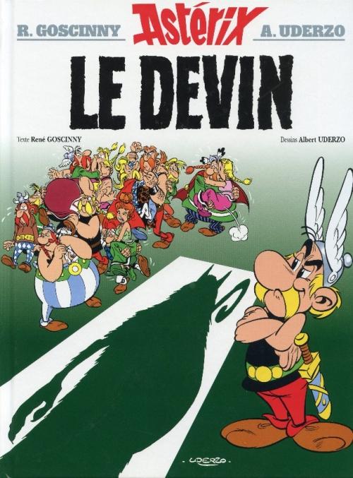 Couverture Astérix, tome 19 : Le devin