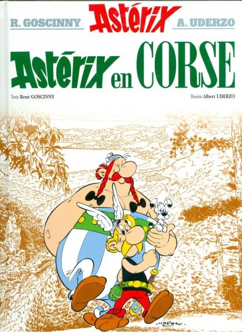 Couverture Astérix, tome 20 : Astérix en Corse