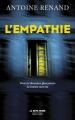 Couverture L'Empathie Editions Robert Laffont (La bête noire) 2019