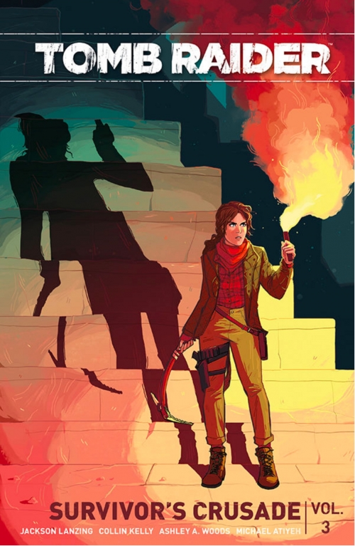Couverture Tomb Raider II, tome 3