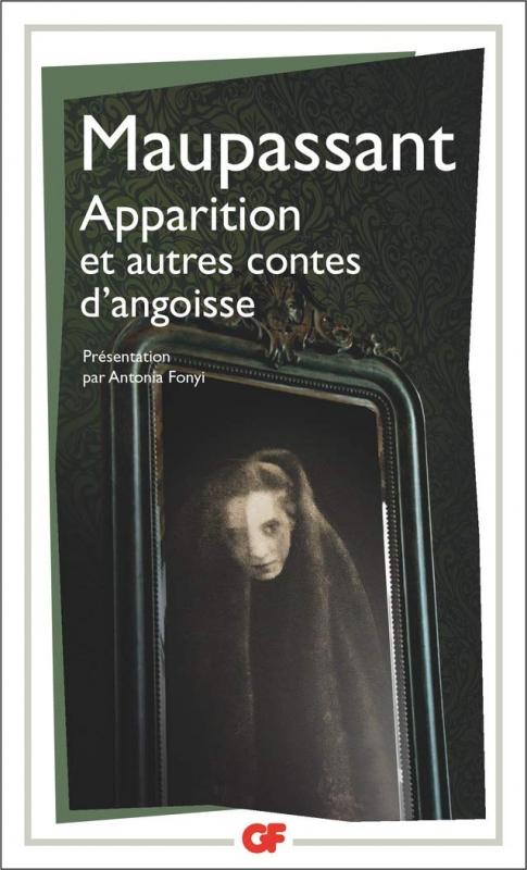Couverture Apparition et autres contes d'angoisse