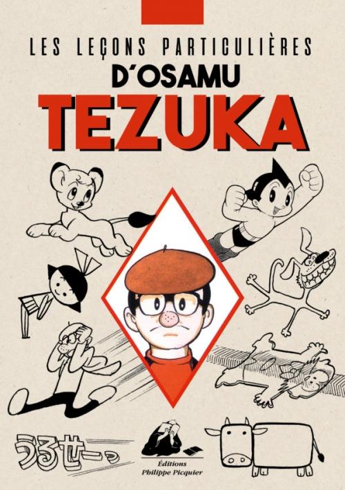 Couverture Les leçons particulières d'Osamu Tezuka