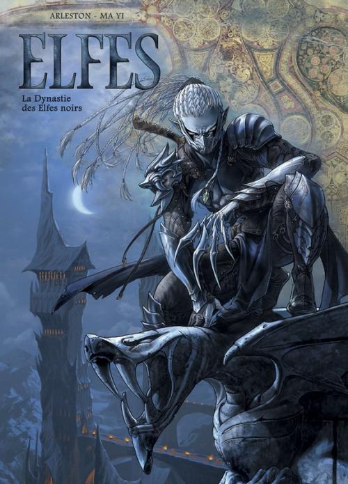 Couverture Elfes, tome 05 : La dynastie des elfes noirs