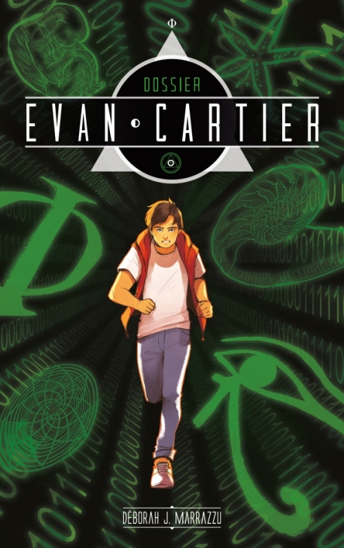Couverture Dossier Evan Cartier, tome 1 : Héritage Crypté