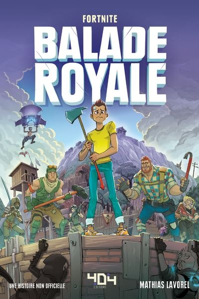 Couverture Fortnite. Battle Royale.