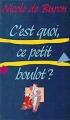 Couverture C'est quoi, ce petit boulot ? Editions France Loisirs 1989