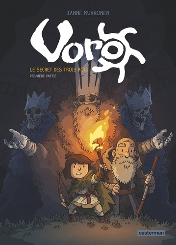 Couverture Voro : Le secret des trois rois, tome 1