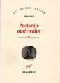 Couverture Pastorale américaine Editions Gallimard  2018