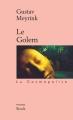 Couverture Le Golem Editions Stock (La Cosmopolite) 2002