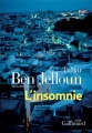 Couverture L'insomnie Editions Gallimard  2019