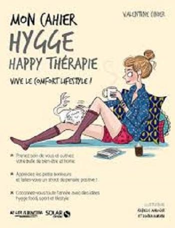 Couverture Mon cahier : Hygge happy thérapie