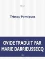 Couverture Tristes Pontiques Editions P.O.L 2008