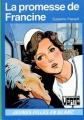 Couverture La promesse de Francine Editions Hachette (Bibliothèque Verte) 1979