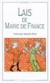 Couverture Lais / Les Lais Editions Flammarion (GF - Bilingue) 1994