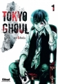 Couverture Tokyo Ghoul, tome 01 Editions Glénat (Manga poche) 2016