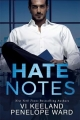 Couverture Hate Notes Editions Montlake (Romance) 2018