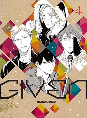 Couverture Given, tome 4