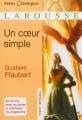 Couverture Un coeur simple Editions Larousse (Petits classiques) 2013