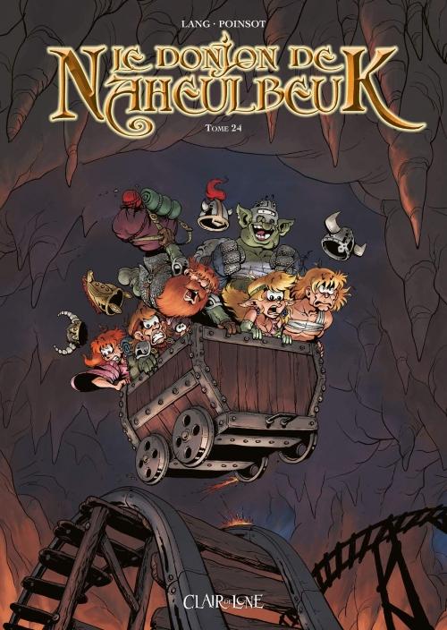 Couverture Le donjon de Naheulbeuk (BD) - Premier Cycle, tome 24 : Sixième saison, partie 6