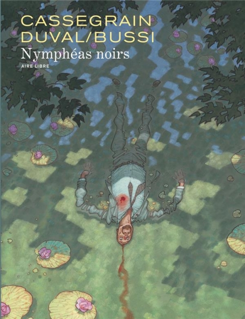 Couverture Nymphéas noirs (BD)