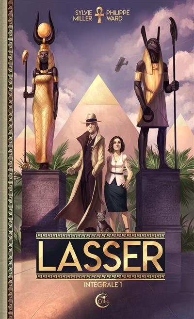 Couverture Lasser, détective des dieux, intégrale, tome 1