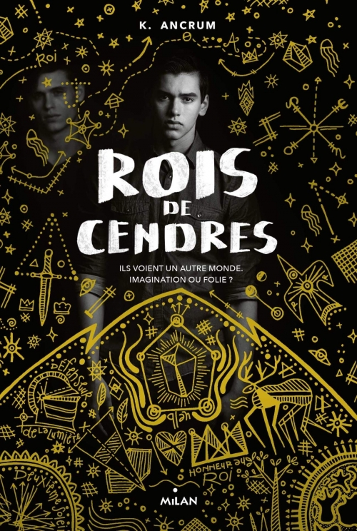 Couverture Rois de cendres
