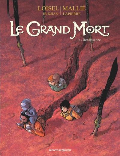 Couverture Le grand mort, tome 8 : Renaissance
