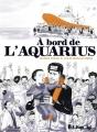 Couverture À bord de l'Aquarius Editions Futuropolis 2019