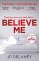 Couverture Believe Me Editions Quercus 2018