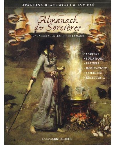 Couverture Almanach des sorcières : Une année sous le signe de la magie